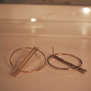 BaubleBar Hoop Earrings - Gold